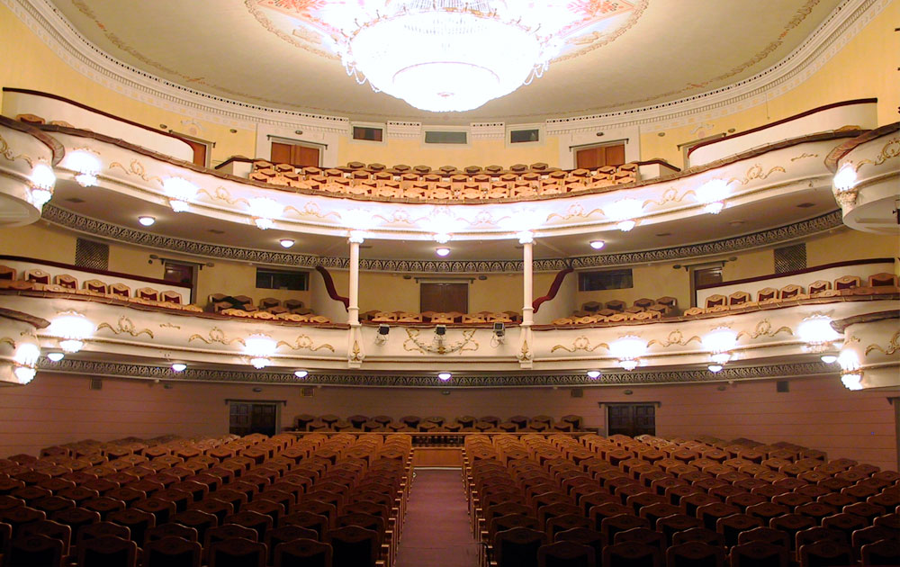 Зрительный зал Чувашдрамтеатра