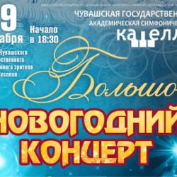 Большой новогодний концерт в Театре юного зрителя им. М. Сеспеля