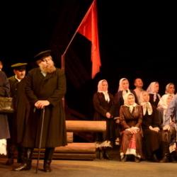Спектакль «Проклятое племя» в Чувашском драмтеатре
