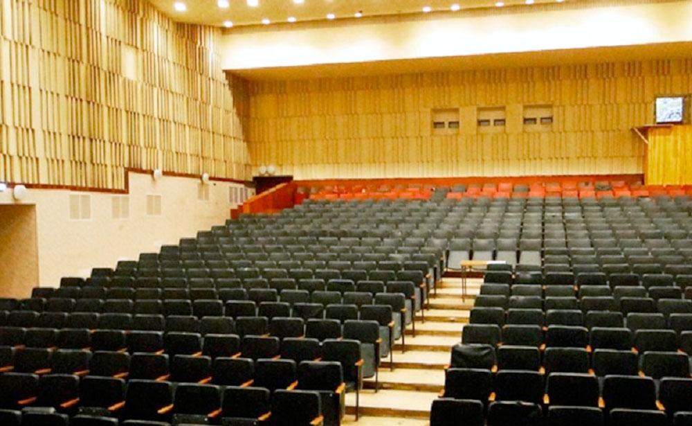 Большой зал дворца культуры