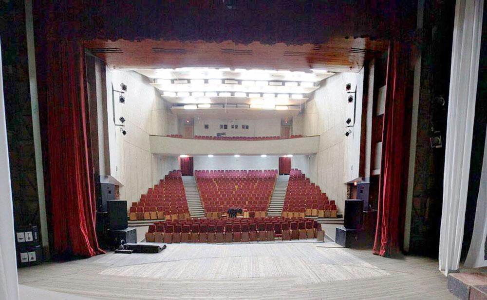 Большой зал ДК