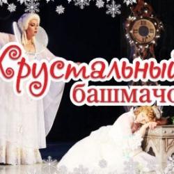 Музыкальная сказка-спектакль «Хрустальный башмачок» в Чувашском театре оперы и балета