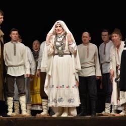 Спектакль «В деревне» в Чувашском драмтеатре